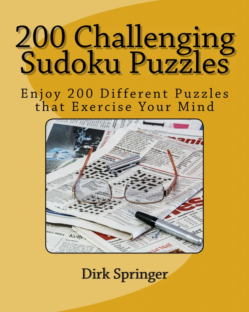200 Challenging Sudoku Puzzles