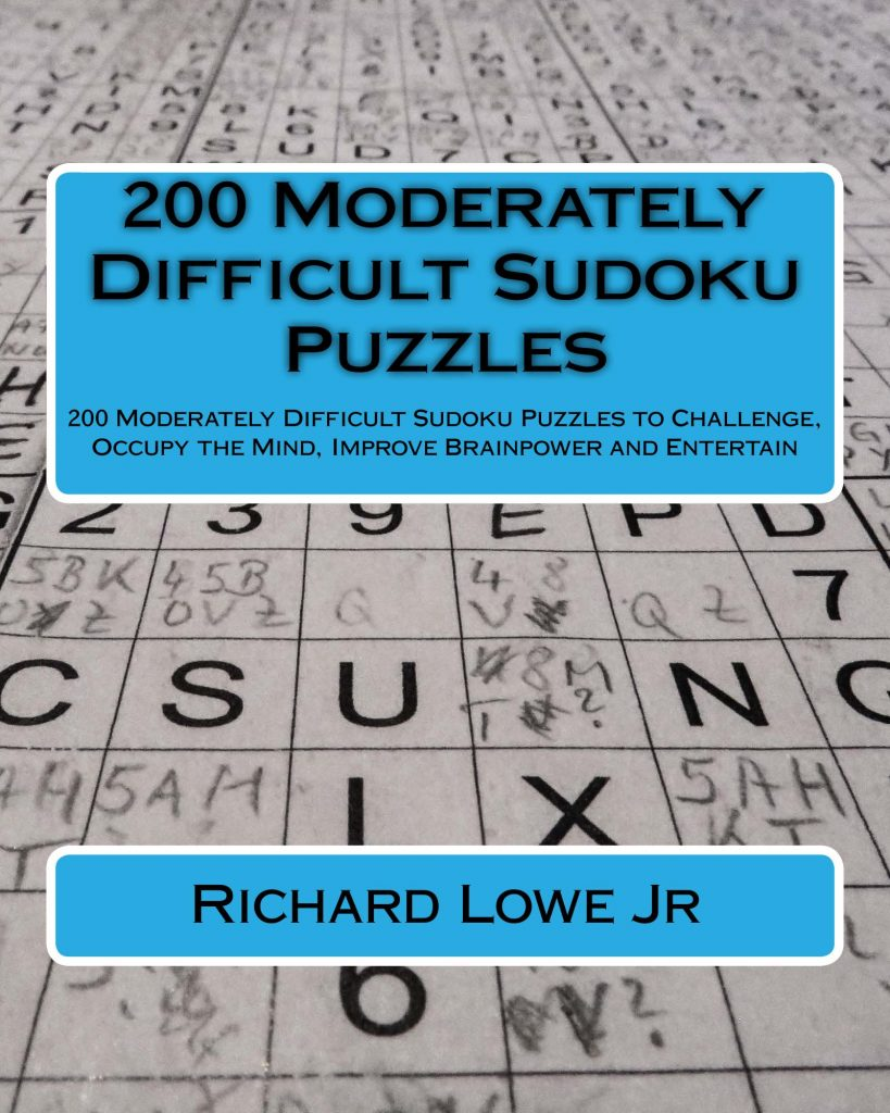 200 Moderately Difficult Sudoku Puzzles