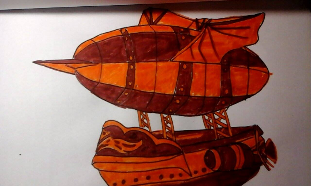 Additional Images: Steampunk Adult Coloring Book