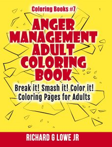 Anger Management Colornig Book