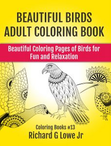 Beautiful Bird Adult Coloring Book