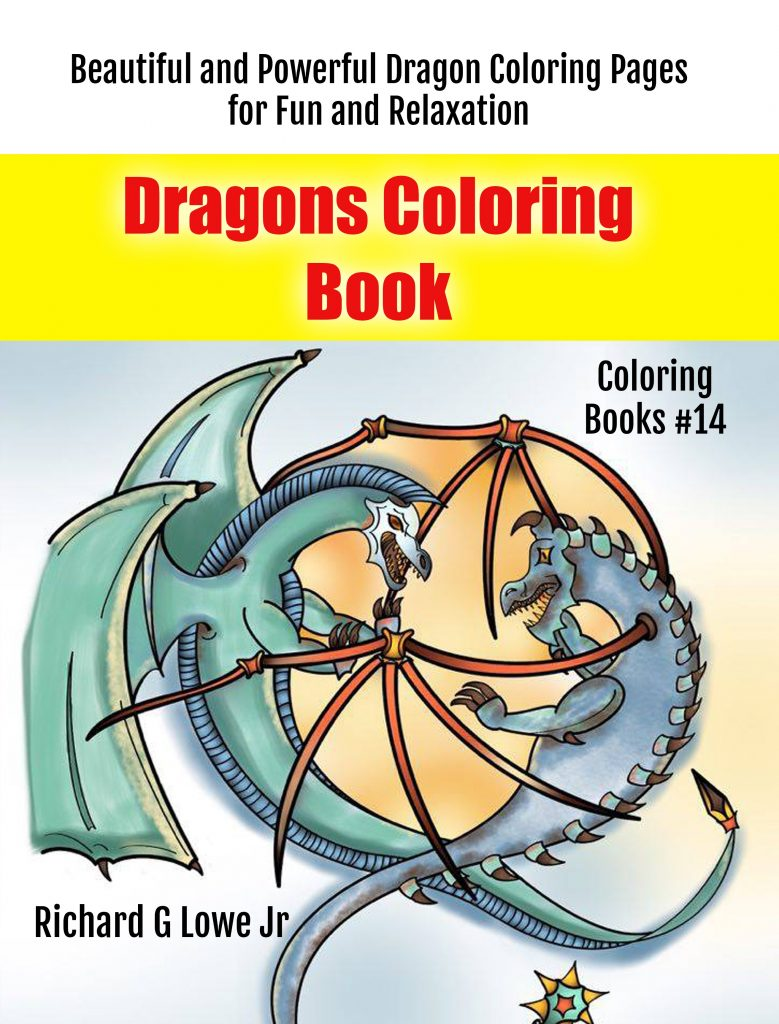 Book Cover: Dragons Coloring Book