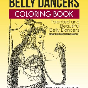 Belly Dancers Coloring Book #1